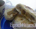哇~好吃赞不绝口的香菇鲁肉饼(图:天使厨坊/大纪元)