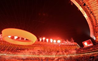 10月16日,中国第11届全国运动会在山东济南开幕。花费巨额民膏民脂的运动会,却爆出大量丑闻。(Getty Image)