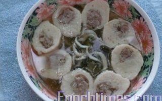 【健康輕食料理】醬瓜魚丸湯