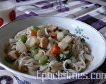蔬菜拌麵(圖:梅芬/大紀元)