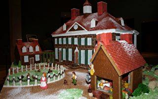 弗農山莊聖誕裝飾展現18世紀生活情趣