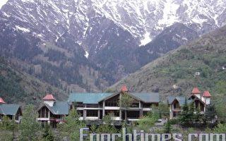喜马拉雅小瑞士 马纳里城睥睨群峰