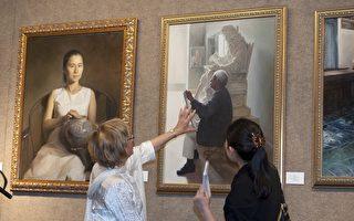 華人油畫作品啟發西方藝術家