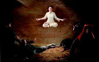 第二屆新唐人油畫大賽 《震撼》獲金獎