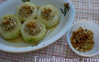 【健康輕食料理】黃瓜鑲素麵筋