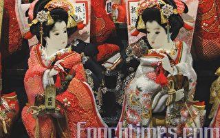 每年年末在日本各地均有名为羽子板集市的传统活动。(摄影:卢勇/大纪元)