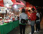 農特產品文化市集,除了台灣經典美食小吃,還有展現台灣本土風情的龍鬚糖、捏麵人、布袋戲偶製作。(圖片高縣府新聞處提供)