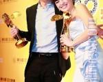 影帝由甫獲得今年金馬影帝的香港演員張家輝獲得,影后則是台灣演員張榕容奪得(攝影:宋碧龍╱大紀元)