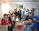 陶藝家探討創作與釉藥的燒法心得交流會假台北市天母陶藝家馮華生、劉文英的店舉行。(攝影:李容耕/大紀元)
