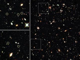 哈伯太空望远镜重大突破  发现最古老星系