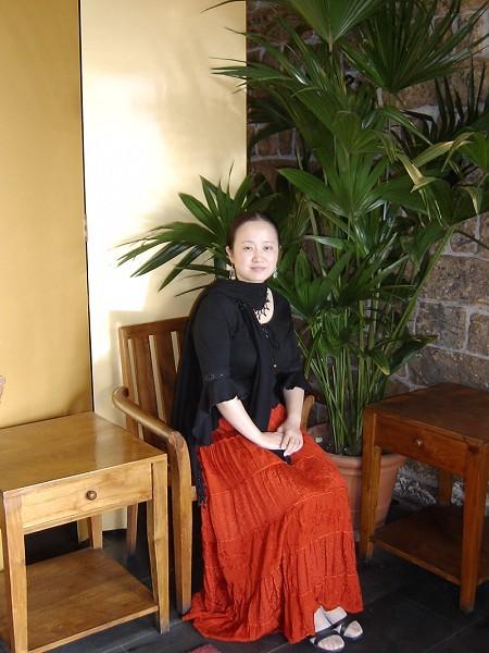 旅美作家秋潇雨兰女士(本人提供)