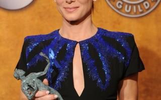 珊卓布拉克分别获奥斯卡及金酸莓奖提名。(图/Gettyimages)