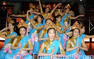 波士頓中國舞蹈團的敦煌舞。(攝影:楊天儀/大紀元)