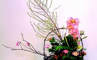 新年人文插花-福虎生豐