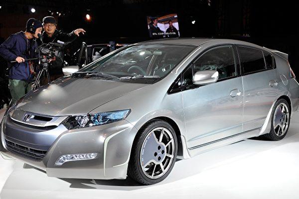 除了豐田Prius,本田的Insight油電混合車被認為是其最強有力的挑戰。(圖片來源:法新社)