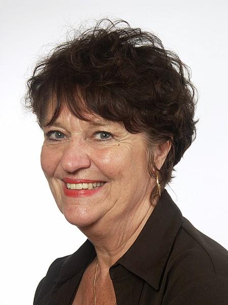 知名演员、电视剧导演兼国会议员苏维‧腾斯顿女士(瑞典国会网图片)