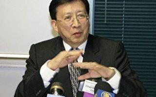 """刘兆玄博士:""""台湾产业将从硬实力转向软实力"""" (摄影:张倩/大纪元)"""