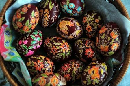 組圖:漂亮的復活節彩蛋