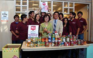 核桃市呼吁民众捐赠食品献爱心