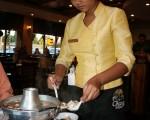 圖﹕「泰景苑」餐廳泰國菜餚獨樹一格。(攝影﹕袁玫/大紀元)