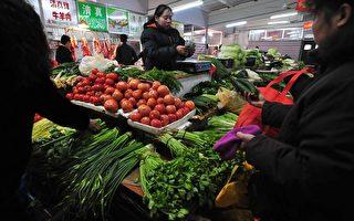 中國各地菜價「發高燒」 武漢綠豆貴過肉