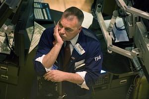 美国股票大跌,但是有部分股票却悄然回升。 (图片来源:Getty Images)
