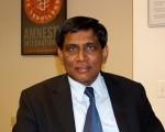 国际大赦美国分部亚太部倡导主任库玛(T.Kumar)。大纪元图片