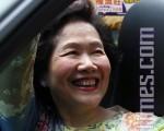 已经年届70岁的陈方安生,一直被誉为香港的良心,在香港市民心目中有相当的分量。(摄影:潘在殊/大纪元)