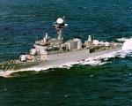 """调查指出,3月26日韩国海军巡逻舰""""天安号""""系遭朝鲜小型潜舰发射鱼雷击沉。图为""""天安号""""档案照。(AFP )"""