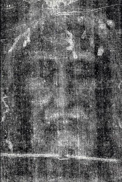 裹尸布上有耶稣的轮廓(法新社)