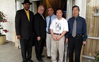 亚洲民主联盟设宴表彰六四雕塑家陈维明