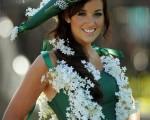 英国皇家赛马会创意帽饰为活动开辟了一个竞赛场。(图片来源:AFP)