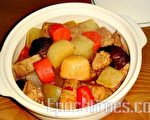 双萝卜炖肉(图:林秀霞/大纪元)