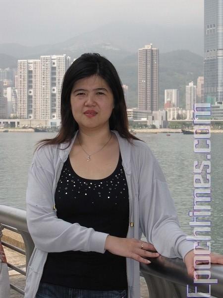 中国冤民大同盟主席沈婷(大纪元资料图片)