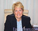 塔芙茨醫療中心總裁愛倫‧曾(Ellen Zane)。(攝影:文蕾/大紀元)