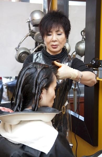 G.G. Hair Shop美容美髮店院長Joa Nne 。(大紀元/愛德華)