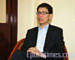 香港立法会议员郑家富(摄影:潘在殊/大纪元)