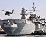 美韩联合军事演习将于本月25日举行,图为美国第7舰队的舰只。 图片来源:Getty images