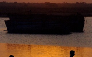 組圖:夕陽的神秘面紗