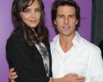 主演凯蒂·赫尔姆斯(Katie Holmes)携老公汤姆·克鲁斯(Tom Cruise)为新片助阵。(图/Getty Images)