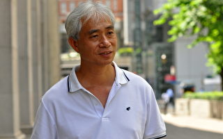 香港議員聲援台法輪功告中共官員