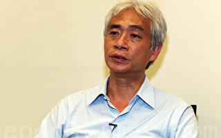 香港立法会议员梁耀忠表示,如果中国政治结构里面,都不让人们参与,都不让人们出声,都不能够让人们去当家做主的话,我想这些问题很可能在未来的时间里面仍然发生。(摄影:潘在殊 / 大纪元)