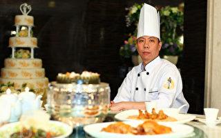"""虽然""""全世界中国菜厨技大赛""""刚结束,香港资深粤菜厨师梁秉政表示,希望来年能与世界烹饪高手切磋,将传统饮食文化发扬光大。(摄影:潘在殊/大纪元)"""