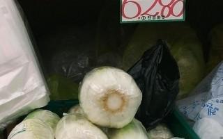 韩国政府决定从中国进口大量白菜,引发了韩国人对中国产白菜质量的担忧。(摄影:全宇/大纪元)