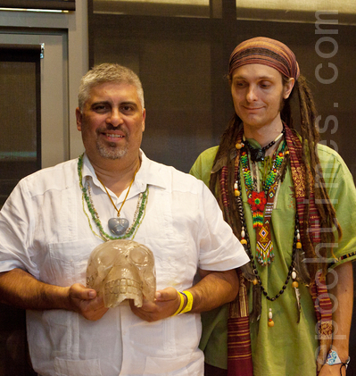 古瑪雅人的水晶頭骨想告訴我們什麼?專訪張傑連