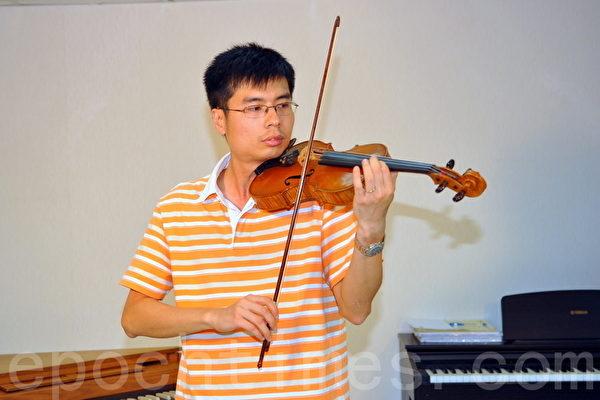 小提琴导师盼大赛成交流盛事