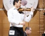 小提琴大賽複賽選手表現優異 觀眾盛讚
