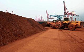 中共專家鼓吹包括稀土在內的「三大王牌」,圖為江蘇省連雲港的稀土礦物。(AFP)