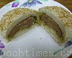 香味引人的胡椒饼(摄影:刘玉婵 / 大纪元)