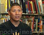 """新唐人第三届""""全球华人摄影作品大奖赛""""将于月底在纽约颁奖。香港著名摄影家谢明庄称许大赛为摄影界提供一个分享和交流平台。(摄影:潘在殊/大纪元)"""